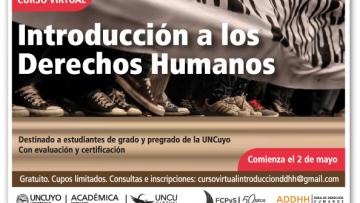 """Curso virtual """"Introducción a los Derechos Humanos"""""""