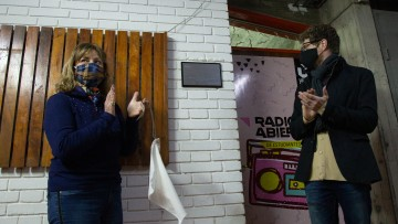 El estudio de Radio Abierta ya lleva el nombre de Jorge Sosa