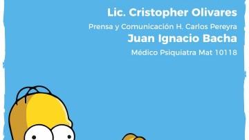 """Charla """"Los Simpson y salud mental"""""""