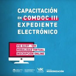 Capacitarán en COMDOC III-Expediente Electrónico al personal no docente de la UNCuyo