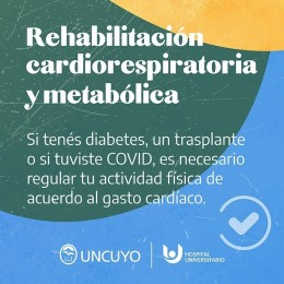 Rehabilitación cardiorespiratoria y metabólica
