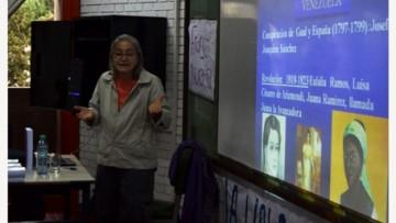 Con gran convocatoria se realizó la jornada de estudio sobre mujeres en la Independencia