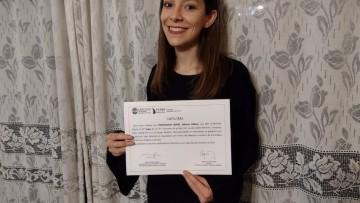 Sabrina Pojmaevich es la ganadora del certamen de Derechos Humanos