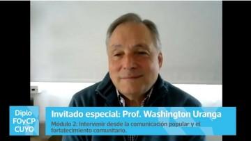 """Washington Uranga: """"La comunicación popular debe organizar estratégicamente un futuro diferente"""""""